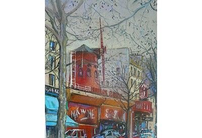 Montmartre - le Moulin rouge